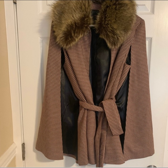 Cape forever 21 coat